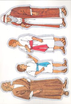 Primary Cutouts from lds.org. #ldsprimary