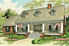 Exterior - Front Elevation Plan #45-134 - Houseplans.com