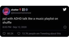 Adhd And Autism, Add Adhd, Adhd Funny, Adhd Humor, Mental Health Memes, Adhd Medication, Adhd Brain, Funny Quotes, Funny Memes