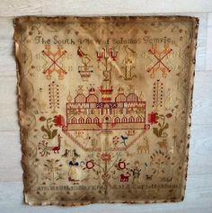 temple de Salomon, beaucoup de ressemblances avec margaret Leadbitter