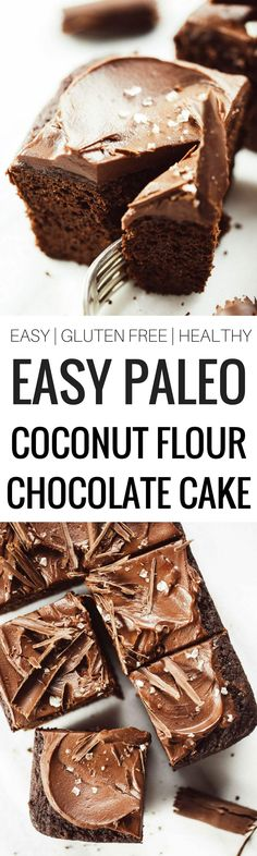 Best paleo chocolate sheet cake recipe with the best chocolate frosting. (replace coconut sugar with erythritol for low carb)