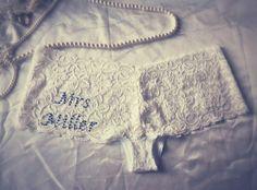 Personalisierte Hochzeit Elfenbein Lace Slips von SewendipityLife