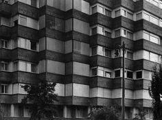J.A.Coderch - Edificio c/Amigó. Fachada a Via Augusta