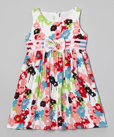 Love this Lele for Kids Pink Floral Babydoll Dress - Toddler & Girls by Lele for Kids on #zulily! #zulilyfinds