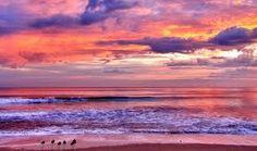 Stunning sunset