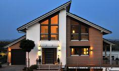 176 besten h user bilder auf pinterest haus grundriss arquitetura und fassaden. Black Bedroom Furniture Sets. Home Design Ideas