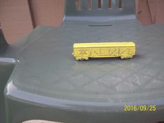 1950 A Critter U.S 58-73 Western Stock Shippers Stock Car, 5427 Metal Train Bed #Acritter #TrainBed