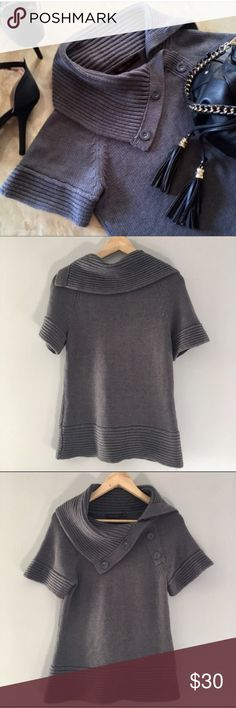 COWL NECK • Knit Top Super cute 💕 Ships Fast 💕 The Limited Tops