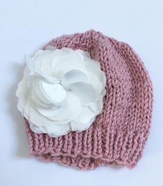 Newborn Twins Coral Bow Hats Coral Knit Baby Hats Coral Pinterest