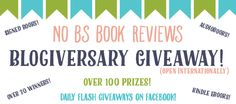 Blogiversary Celebration: Changes, Updates, and a MASSIVE Giveaway!