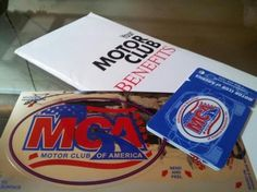 MCA membership kit, card car sticker brochure! #MCA #Roadside #MotorClubofAmerica #autoclub #towing #motor-club-of-america http://www.mcamotorclubofamericahq.com
