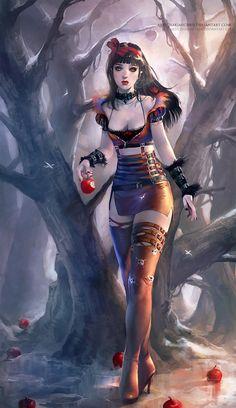 Snow White by Sakimichan
