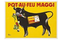 Pot-au-feu Maggi 1957