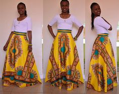 Dashiki Women African Clothing 2017 Hot Selling African National Costumes New Style Totem Printing Chiffon Skirt Sexy Dress African Wear, African Women, African Dress, African Outfits, Dashiki Skirt, Dashiki Fabric, African Print Skirt, African Print Fashion, Sexy Skirt