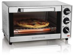Shop a great selection of Hamilton Beach 31401 Stainless Steel 4 Slice Toaster Oven Broiler (Renewed). Find new offer and Similar products for Hamilton Beach 31401 Stainless Steel 4 Slice Toaster Oven Broiler (Renewed). Toaster Oven Pizza, Retro Toaster, Glass Toaster, Stainless Steel Toaster, Pizza Maker, Countertop Oven, Hamilton Beach