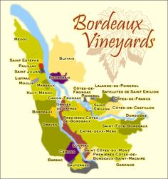 Bordeaux Vineyards   #travel #vacation #information This Pin re-pinned by www.avacationrental4me.com