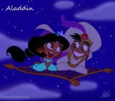 Aladin et jasmine de aladin