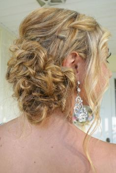 prom updo by : laura powell