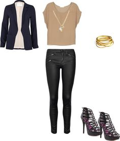 """""""Nightime Outfit"""" by nspat on Polyvore"""