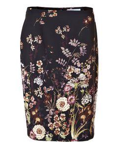 Floral Pencil Skirt #cleofashion | Cleo