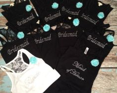 Popular items for bridesmaid tank tops on Etsy