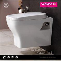 Excellent quality Sanitary Ware like Cabinet-Basins, Basins, Sinks, Toilet and Urinals for your bathroom from Varmora Granito Pvt Ltd #varmoratiles #sanitarywares #ceramic #homedecor #mondaymotivation