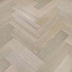 Grey Oak Engineered Herringbone Parquet Brushed and Oiled 150mm x 14mm x 600mm