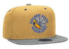 Mitcehll & Ness Golden State Warriors Yellow Melton Heather Grey Strapback Snap Hat Cap - http://gswteamstore.com/2016/03/03/mitcehll-ness-golden-state-warriors-yellow-melton-heather-grey-strapback-snap-hat-cap/