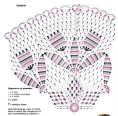 Схема салфетки с первоцветами.