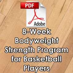 8-Week Bodyweight Strength Program for Basketball Players, I have coupon codes