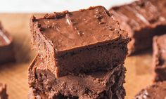 Sweet Potato Brownies (without icing, 12 servings: 225 kcal, 7g fat, 3g sat fat, 21g sugar, 4g protein)