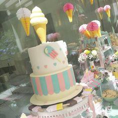 """""""Hoje temos aniversário de gémeos com o tema gelados. #festa #limalimao # aniversário"""""""