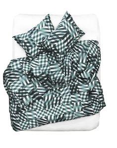 Criss Cross Artist Duvet Covers and Pillows by Kapitza Studio