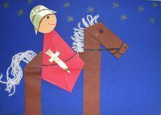Martin basteln – Rebel Without Applause Hl Martin, Saint Martin, Kindergarten Portfolio, Kindergarten Art Projects, Diy For Kids, Crafts For Kids, Summer Crafts, Fall Crafts, Summer Kids