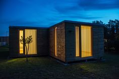Detalle exterior vivienda #Addomo #madera #arquitectura #diseno #modular addomo.es