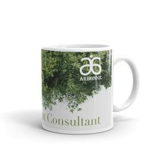 Arbonne Partial Tree Mug made in the USA by digital detours