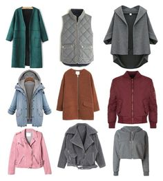 """""""Fall jackets """" by kaizenn on Polyvore featuring J.Crew, MANGO, WearAll, Rebecca Taylor and Golden Goose"""