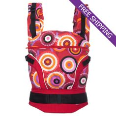 Manduca Baby Carrier Limited Edition Circadelic Wine