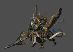 Monster Concept Art, Fantasy Monster, Character Concept, Character Art, Character Design, Tomb Kings, D&d Dungeons And Dragons, Monster Design, Creature Concept