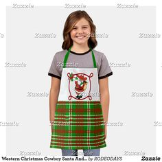 Plaid Apron, Western Kitchen Decor, Western Christmas, Cook At Home, Summer Bbq, Westerns, Cool Designs, Arts And Crafts, Style