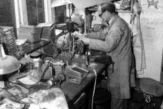 Inside the Oliver Goldsmith workshop in 1966