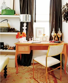 Go Bold: Rooms with Prints, Texture, and Color   Brunch at Saks