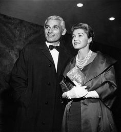 Jeff Chandler and Esther Williams
