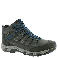 KEEN Mens Oakridge Mid Polar WpM Hiking Boot BlackInk Blue 11 M US * Read more reviews of the product by visiting the link on the image.