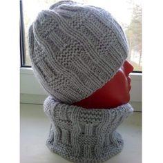 Knitting patterns, knitting designs, knitting for beginners. Baby Hats Knitting, Easy Knitting, Knitting For Beginners, Baby Knitting Patterns, Loom Knitting, Knitted Hats, Crochet Beanie, Knit Crochet, Crochet Edgings