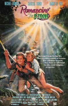 25 movies from the 80s that every kid should see movies romancing the stone 1984 original movie poster publicscrutiny Image collections