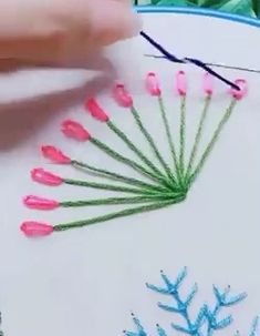 20 amazing sewing hacks for women video amazing hacks knitting sewing video women – ArtofitDIY now for your broken jeans! Leaf embroidery hole fix Learn ho Creative Embroidery, Learn Embroidery, Silk Ribbon Embroidery, Embroidery Applique, Cross Stitch Embroidery, Modern Embroidery, Flower Embroidery, Embroidery Thread, Embroidery Stitches Tutorial