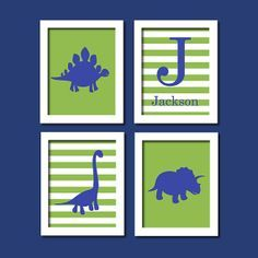 navy blue and green kids room - Google Search