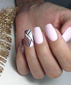Girls Nails, Pink Nails, My Nails, Gelish Nails, Pedicure Nails, Fabulous Nails, Gorgeous Nails, Nail Jewelry, Clean Nails