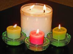 #diy homemade candles for christmas